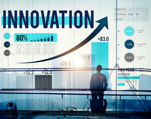 Innovation Inspiration Goals Ideas Mission Concept