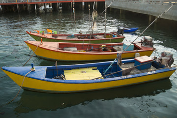 Thai Fish Boats