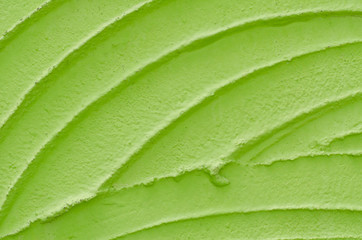 Texture of green wall background