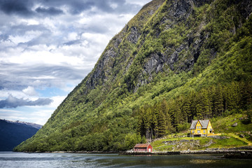 Haus am Fjord Norwegen