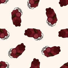bomb , cartoon seamless pattern background