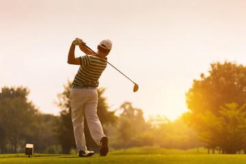 Golfers hit sweeping golf