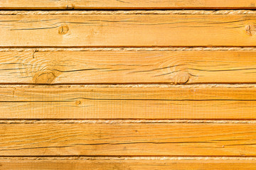Clean texture background of yellow pine wood