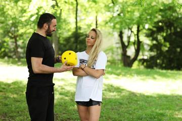 Cube Training mit Personaltrainer