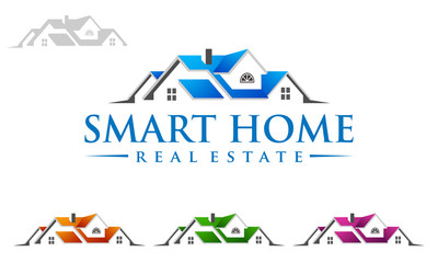 real estate, building, house, property, home, houses, flats, construction, architecture, logo, vector 15