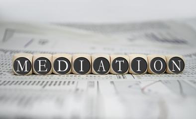 Würfel mit Mediation