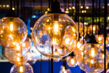 Vintage luxury interior lighting lamp decor