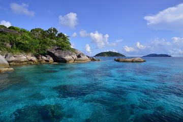 Similan Islands, Thailand. Tropical islands in the Andaman sea.