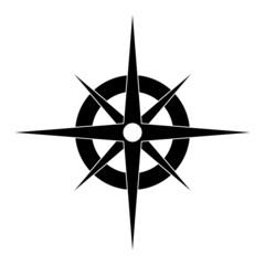 Compass Black icon