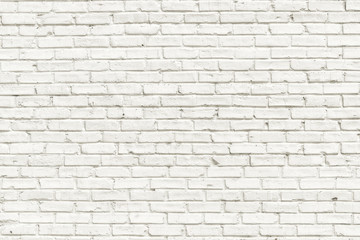 Printed roller blinds Brick wall White brick wall background