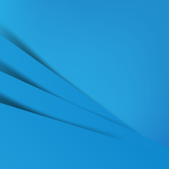Abstract vector blue background overlap layer and shadow - vecto