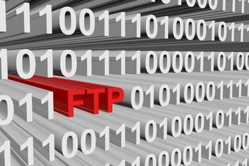 binary code File Transfer Protocol