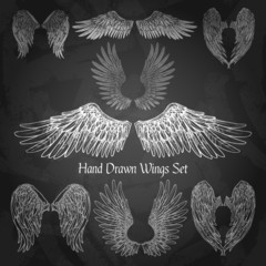 Wings Chalkboard Set