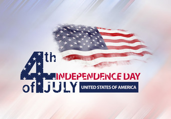 4th of July independence day of united states of America
