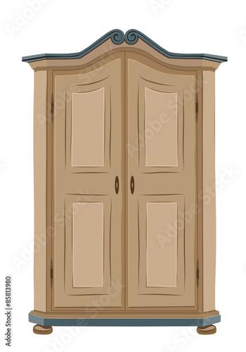 alter bauernschrank stockfotos und lizenzfreie vektoren auf bild 85813980. Black Bedroom Furniture Sets. Home Design Ideas