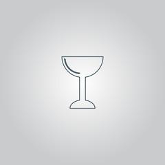 vector drink wineglass