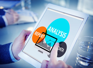 Data Analysis Report Information Strategy Concept