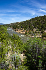 Arkansas River in the Rocky Mountains of Colorado
