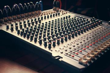 mixer board
