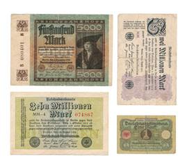Historische Banknoten