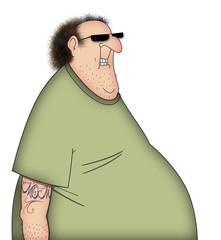 Fat TShirt Guy