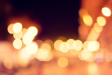 Abstract bokeh light.