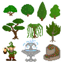 Garden pixelart