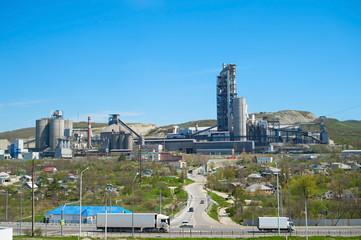 Concrete plant. Russia