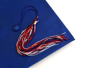 Graduation - tassel on head cover