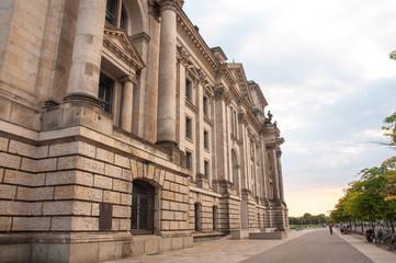 Reichstag im Juni 2015