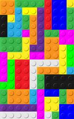 Sfondo mattoncini colorati