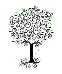 Curlicue Tree