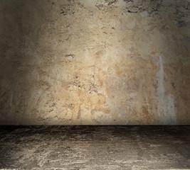 Bare Grunge Concrete Room