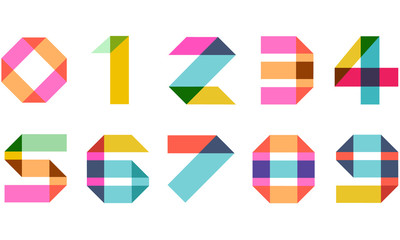 Numbers Vector Icon