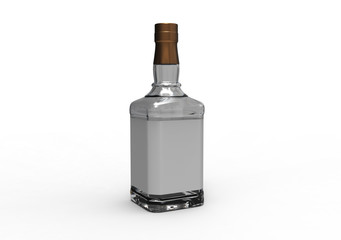 Square bottle