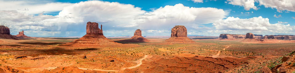 Monument Valley - Panorama View Fototapete