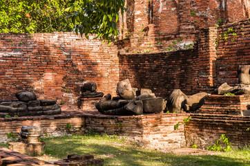 アユタヤ世界遺産の遺跡
