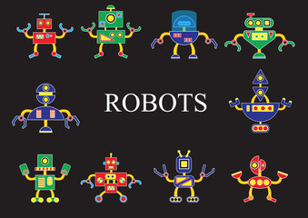 Robots from outer space, the invader or friend