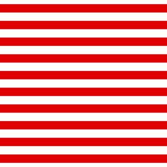 Motif à rayures horizontales transparentes abstraites avec du rouge et du blanc