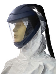 protection, man, mask, isolated, helmet, gear, suit, uniform, wh