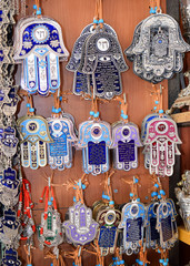 hamsa - traditional palm-shaped amulet