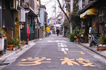 日本の古い住宅街