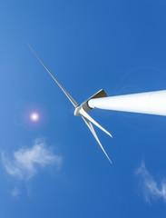 Molino (turbina) de energía eólica