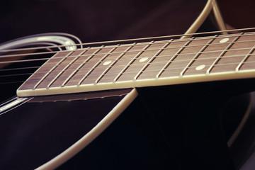 Guitar in vintage style
