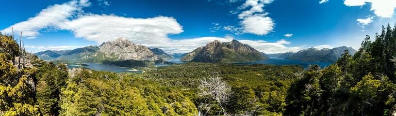 Perito Moreno Oeste and Nahuel Huapi lake, Argentina