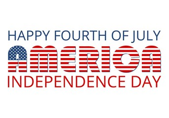 Happy Fourth Of July America Independence Day