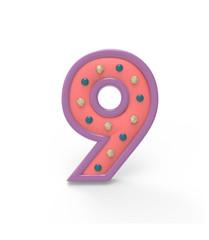 candy number nine, 9