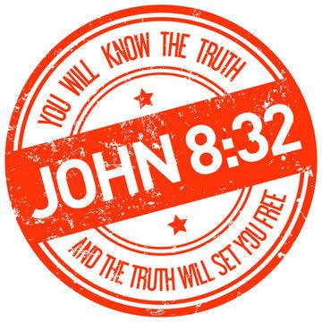holy bible john 8:32