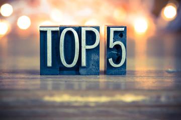 Top 5 Concept Metal Letterpress Type