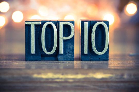 Top 10 Concept Metal Letterpress Type